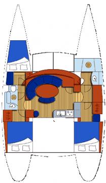 Rental yacht Mahé - Lagoon Lagoon 380 on SamBoat