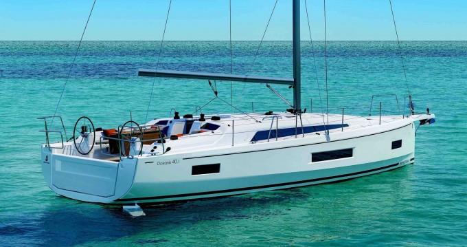 Rental Sailboat in Portisco - Bénéteau Oceanis 40.1