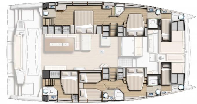 Rental Catamaran in Capo d'Orlando - Bali Catamarans Bali 5.4