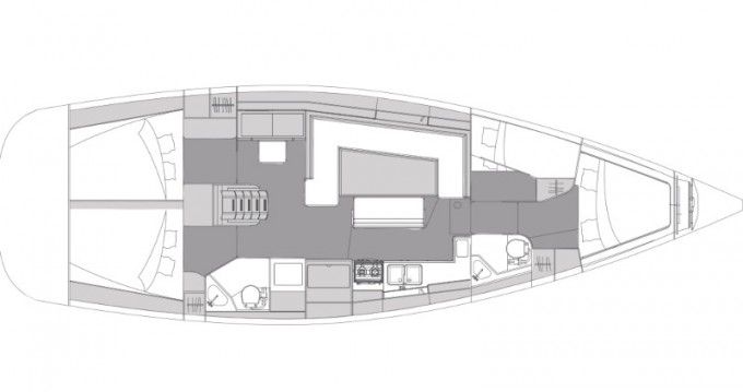 Rental yacht Alimos - Elan Impression 45.1 on SamBoat