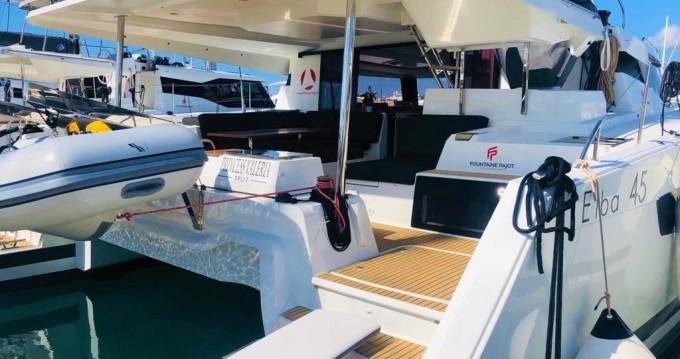 Rental yacht Seget Donji - Fountaine Pajot Elba 45 on SamBoat