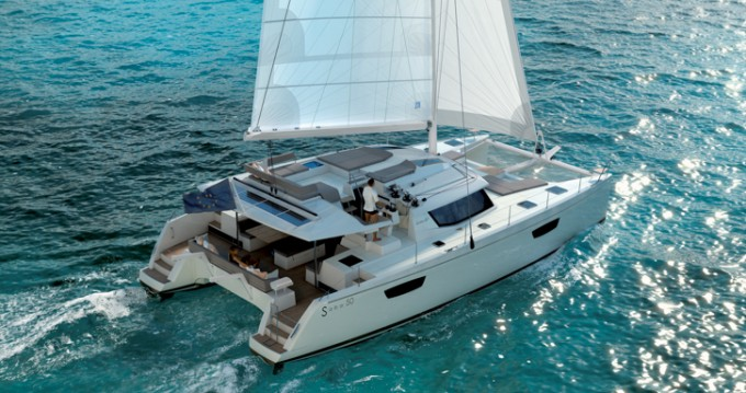Fountaine Pajot Saba 50 between personal and professional Split