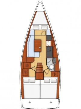 Boat rental Bénéteau Oceanis 35 in Split on Samboat