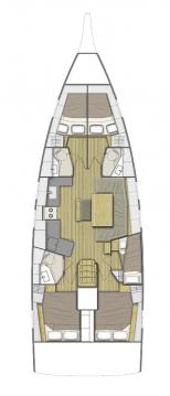 Boat rental Split cheap Oceanis 46.1