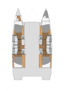 Rental yacht Alimos - Fountaine Pajot Elba 45 on SamBoat