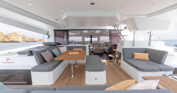Fountaine Pajot Elba 45 between personal and professional Alimos