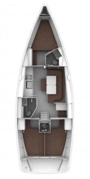 Boat rental Skiathos cheap Cruiser 41