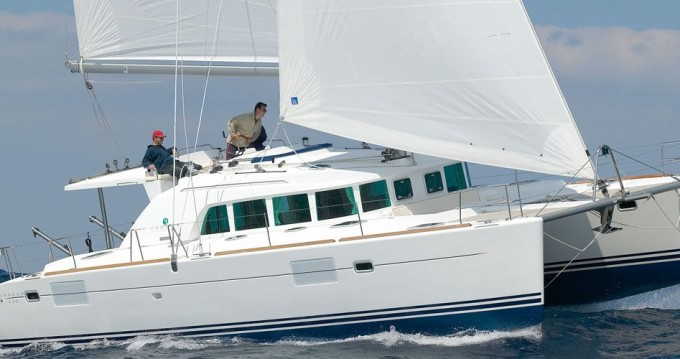 Boat rental Lefkada (Island) cheap Lagoon 440