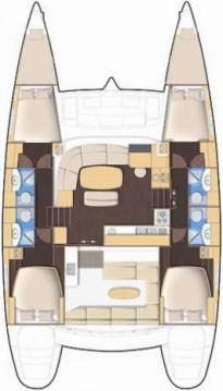 Rental Catamaran in Lefkada (Island) - Lagoon Lagoon 440