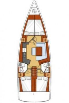 Boat rental Lefkada (Island) cheap Oceanis 45