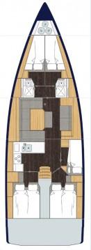 Rental yacht Sukošan - Bavaria Bavaria C45 on SamBoat