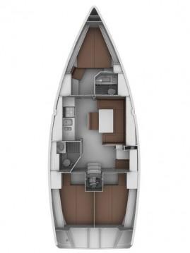 Boat rental Sukošan cheap Cruiser 40