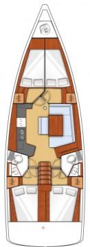 Boat rental Bénéteau Oceanis 45 in Sukošan on Samboat