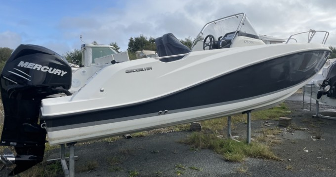 Hire Motorboat with or without skipper Quicksilver Roscoff