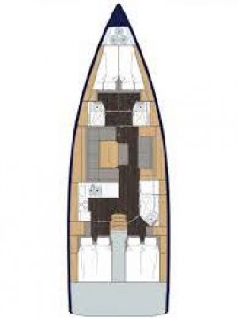 Boat rental Nikiána cheap Bavaria C45