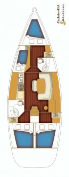 Boat rental Bénéteau Cyclades 43.4 in Rogač on Samboat