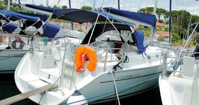 Rental yacht Rogač - Bénéteau Cyclades 43.4 on SamBoat