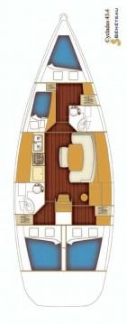 Rental Sailboat in Rogač - Bénéteau Cyclades 43.4