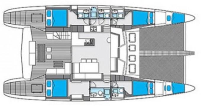 Rental Catamaran in Sant Antoni de Portmany - Sunreef Sunreef 62