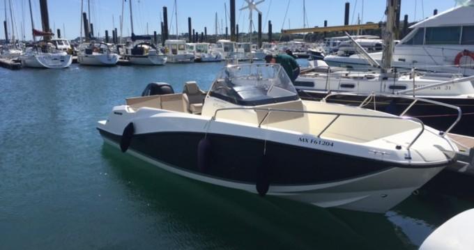 Boat rental Quicksilver Activ 675 Open in Roscoff on Samboat