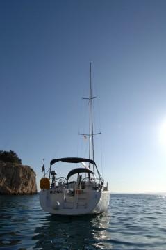 Boat rental Punat cheap Oceanis 40
