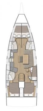 Rental yacht Trogir - Bénéteau Oceanis 46.1 on SamBoat