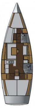 Rental yacht Jezera - Salona Salona 44 on SamBoat