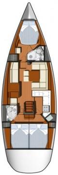 Boat rental Jeanneau Sun Odyssey 45 DS - 3 cab. in Jezera on Samboat