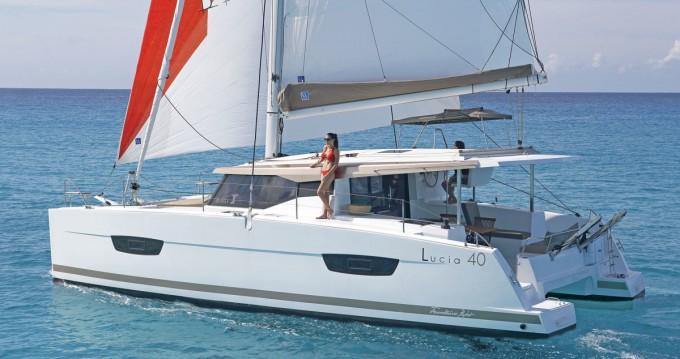 Rental Catamaran in Mykonos (Island) - Fountaine Pajot Lucia 40