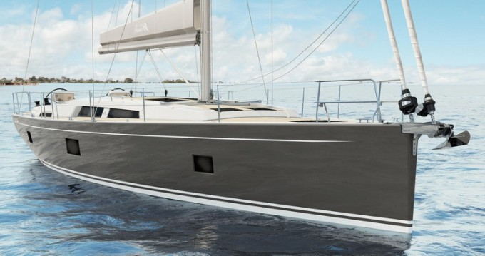 Hanse Hanse 508 between personal and professional Rhodes