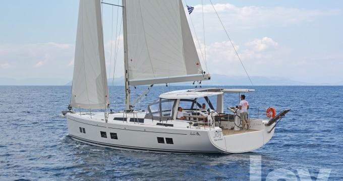 Rental Sailboat in Lefkada (Island) - Hanse Hanse 548 - 4 + 1 cab.