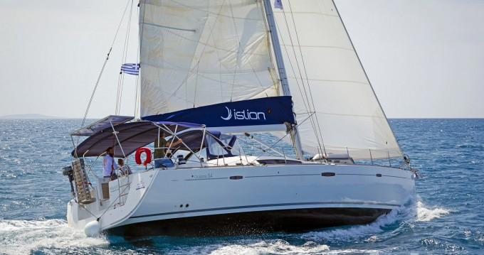 Boat rental Lávrio cheap Oceanis 54