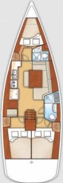 Rental Sailboat in Lávrio - Bénéteau Oceanis 40