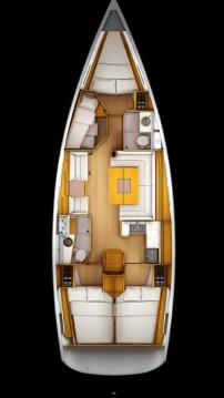 Boat rental Paros Island cheap Sun Odyssey 439