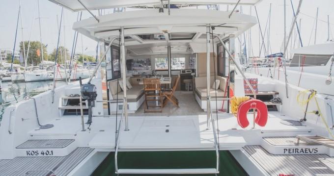 Boat rental Catana Bali 4.0 - 4 + 2 cab. in Deme of Volos on Samboat