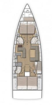 Boat rental Kos cheap Oceanis 51.1