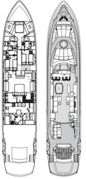 Rental yacht Zadar - Sunseeker Sunseeker Predator 108 on SamBoat