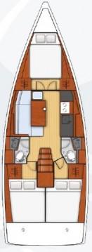 Boat rental Alimos cheap Oceanis 38.1