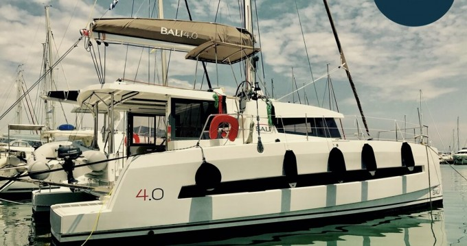 Rental Catamaran in Gouvia - Catana Bali 4.0 - 4 cab.