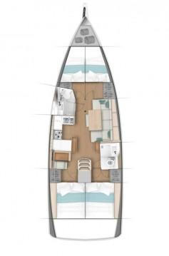 Boat rental Jeanneau Sun Odyssey 440 in Göcek on Samboat