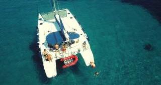 Rental Catamaran in Nea Potidaia - Fountaine Pajot Lavezzi 40