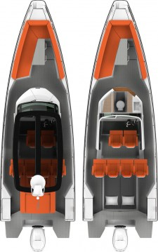 Boat rental Lávrio cheap Axopar 28 T-Top