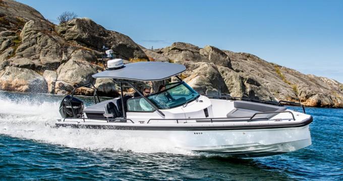 Rental Motorboat Axopar with a permit