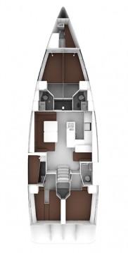 Boat rental Olbia cheap Cruiser 56