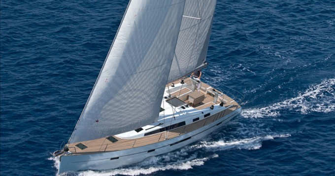 Bavaria Cruiser 56 between personal and professional Olbia