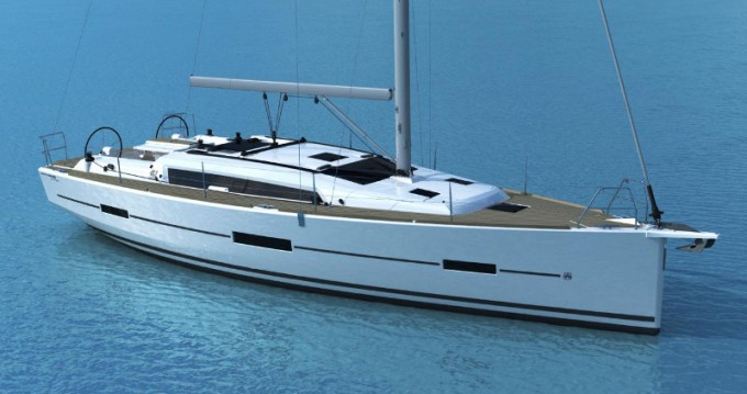 Dufour Dufour 412 Grand Large between personal and professional Ajaccio