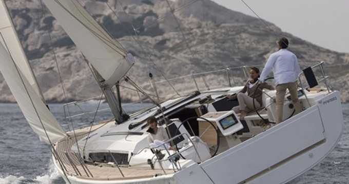 Hire Sailboat with or without skipper Dufour Old Port of Marseille