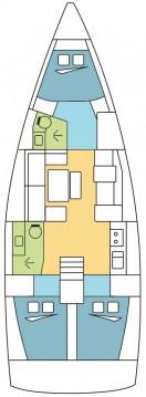Boat rental Dufour Dufour 412 Grand Large in Marina di Portorosa on Samboat