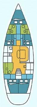 Boat rental Harmony Harmony 52 in Gouvia on Samboat