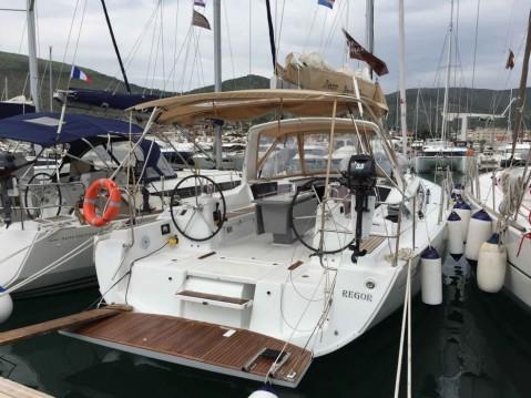 Boat rental Bénéteau Oceanis 41.1 in Seget Donji on Samboat